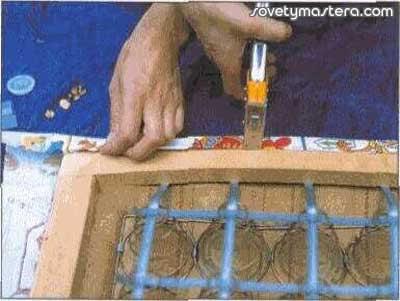 Как обтянуть стул тканью своими руками 66