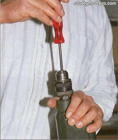 Как заменить патрон на дрели skil