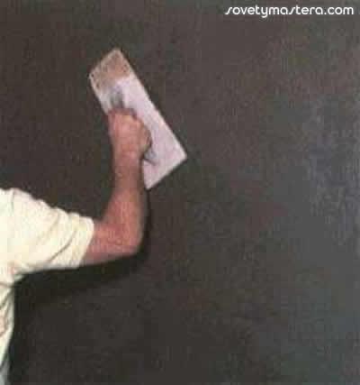 Декоративная штукатурка стен своими руками пошагово фото